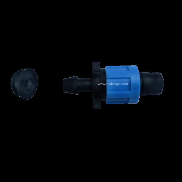 Cút nối ống nhỏ giọt dẹt 17mm