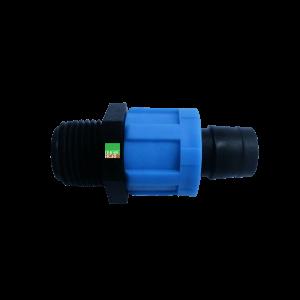 Nối ống nhỏ giọt ra ren ngoài 21mm