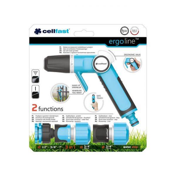 Bộ vòi tưới Cellfast Ergo 27mm