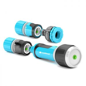 Bộ vòi tưới xoay nhiều chế độ Cellfast Ergo 21mm