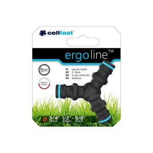 Nối nguồn nước chạc 3 Cellfast Ergo