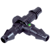 Tê nối ống mềm 6mm