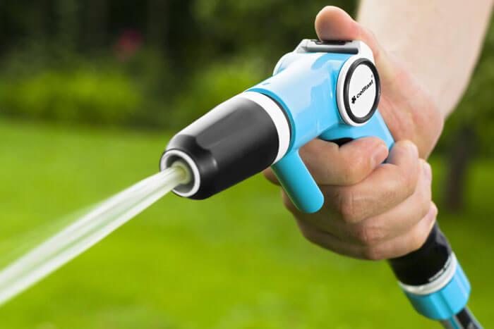 Bộ vòi tưới tay gạt cao cấp Cellfast Ergo với 2 chế độ tưới chính, dễ dàng sử dụng và điều chỉnh dòng tưới.